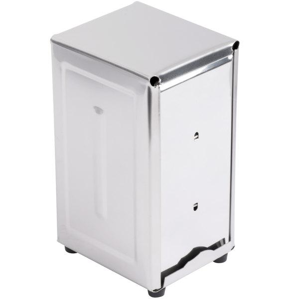 Tallfold Napkin Dispenser - Stainless Steel