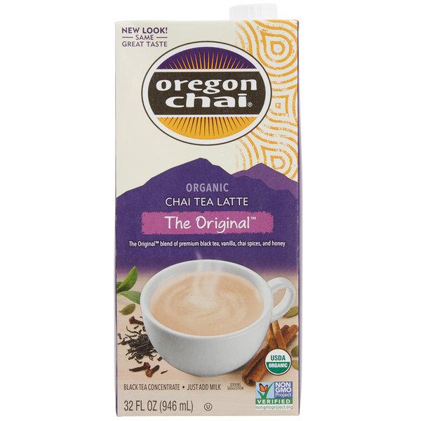 Original Oregon Chai Tea Latte Concentrate - 32 oz.