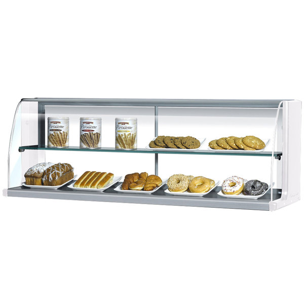 "Turbo Air TOMD-30-H 28"" Top Dry Display Case - White"
