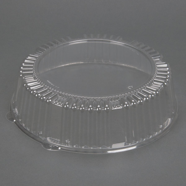 WNA Comet A16PETDM Checkmate 16 inch Clear Dome Lid 25 / Case