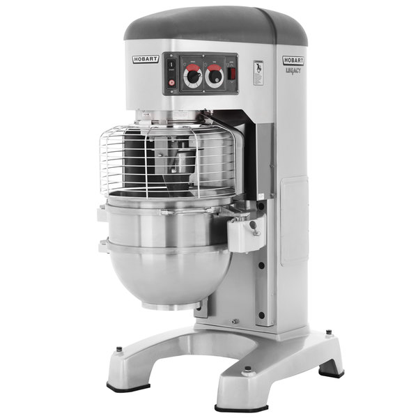Hobart Legacy HL1400-1STD 140 Qt. Commercial Planetary Floor Mixer on