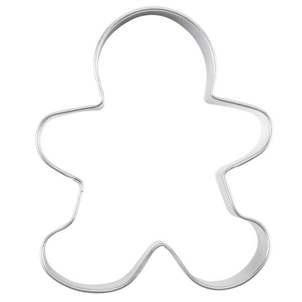 Wilton 2308 1002 3 1 2 Metal Gingerbread Man Cookie Cutter