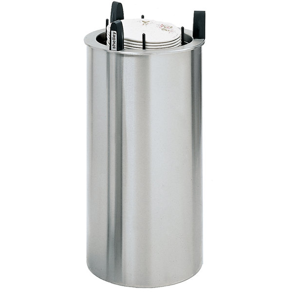 """Delfield DIS-913-ET Even Temp Heated Drop In Dish Dispenser for 8 1/8"""" to 9 1/8"""" Dishes"""