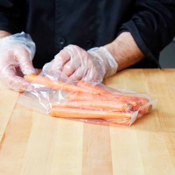 """Elkay Plastics 15G-042010 Plastic Food Bag 4"""" x 2"""" x 10"""" - 1000/Box"""