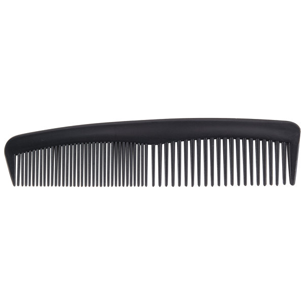 """4 5/8"""" Black Comb Individually-Wrapped in Poly Bag - 1440/Case"""