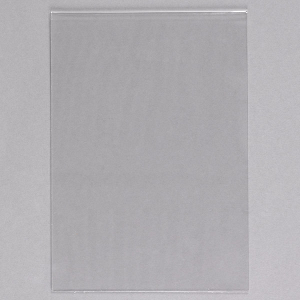 """American Metalcraft PVCME 6"""" x 8 3/8"""" PVC Insert for Medium Table Top Board - 5/Pack"""