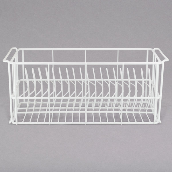 "10 Strawberry Street SLD20 20 Compartment Catering Plate Rack for Salad Plates up to 7 1/2"" - Wash, Store, Transport Main Image 1"