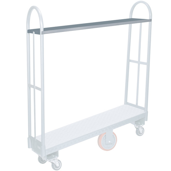 Winholt PAS-60 Plastic Reinforced Shelf for P300-60 Utility Cart Main Image 1