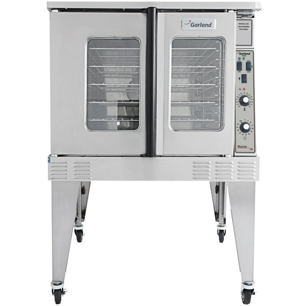 Garland MCO-ES-10-S Single Deck Standard Depth Full Size Electric Convection Oven - 208V, 1 Phase, 10.4 kW Main Image 1