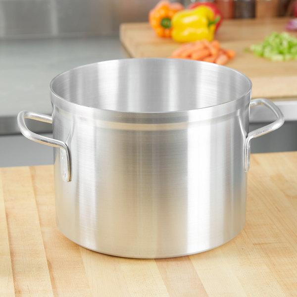 Vollrath 67510 Wear-Ever 10 Qt. Classic Aluminum Stock Pot