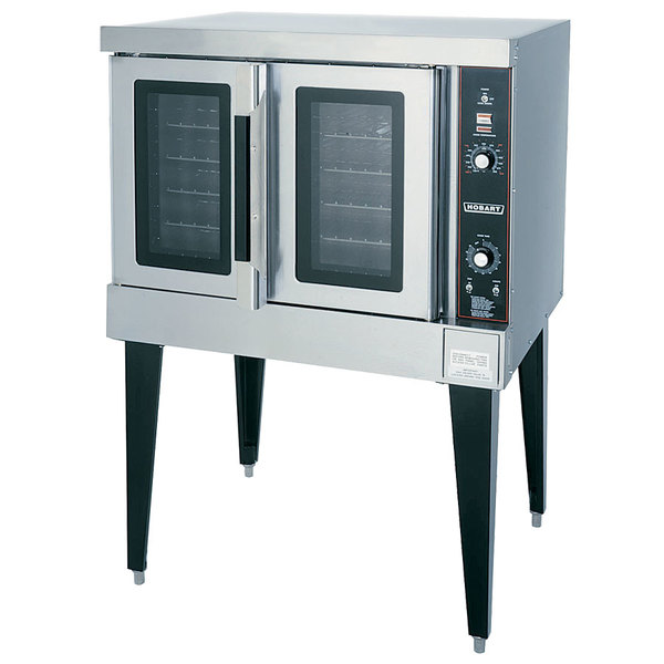 Scratch and Dent Hobart HEC501 Single Deck Full Size Electric Convection Oven - 208V, 3 Phase, 12.5 kW