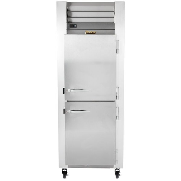 Traulsen G12000 Half Door Reach In Freezer - Right Hinged Doors Main Image 1