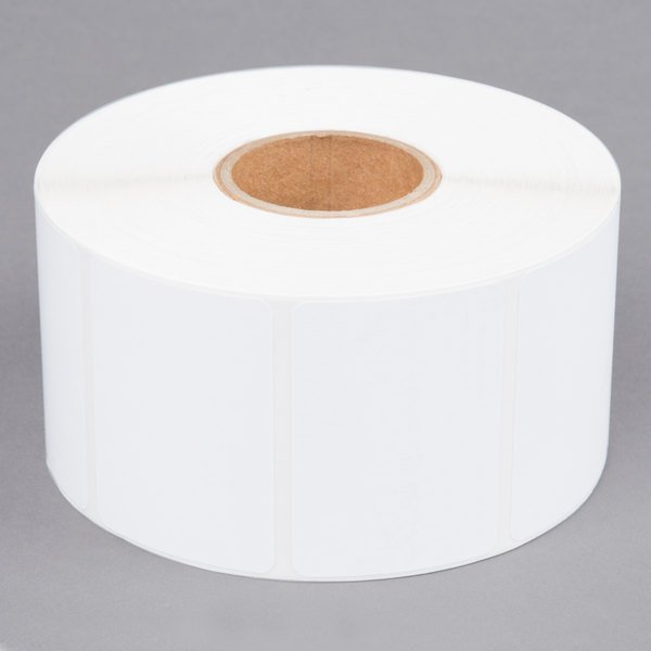 Detecto 6600-0205 Equivalent Labels for P205 Label Printer - 1500/Roll