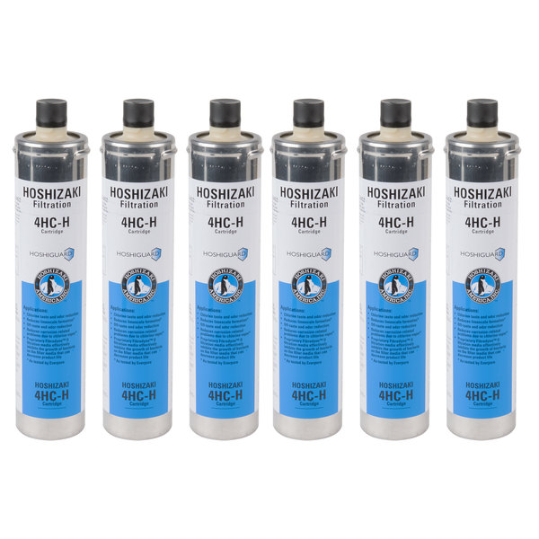 Hoshizaki H9655-06 Replacement Filtration Cartridge for H9320 Filtration Systems - 6/Case
