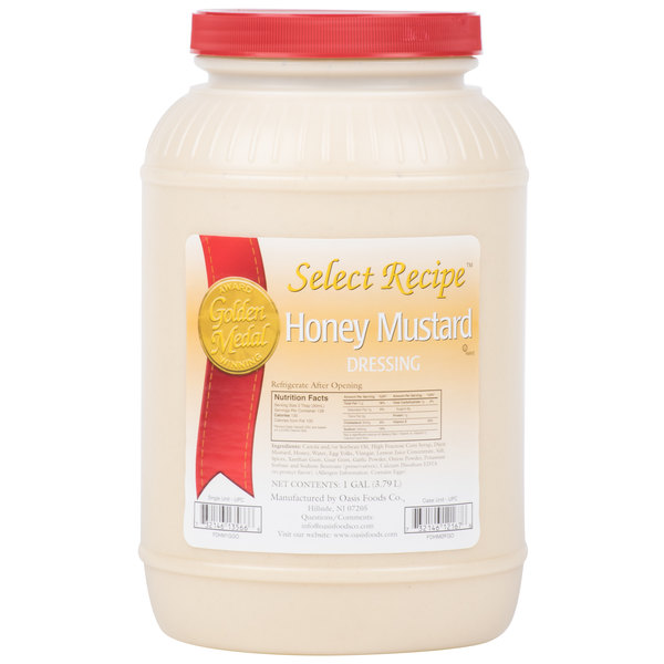 Honey Mustard Dressing (4) 1 Gallon Containers / Case - 4/Case