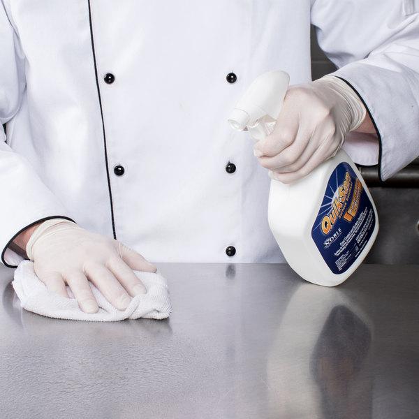 Noble Chemical 1 Qt. / 32 oz. QuikSan Sanitizer and Disinfectant