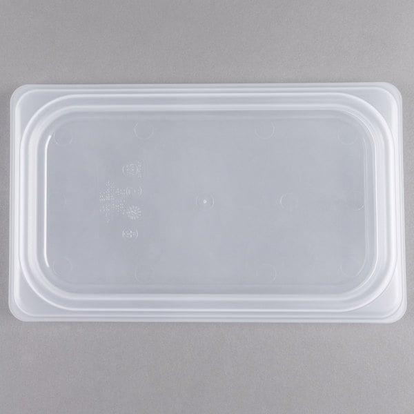Cambro 40PPCWSC190 Camwear 1/4 Size Translucent Seal Cover