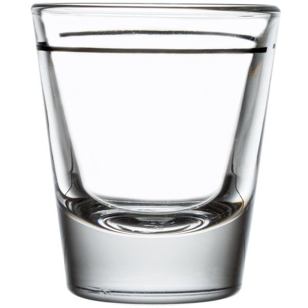 1.5 oz 3 Pack Whiskey Shot Glass Clear Shot Glass