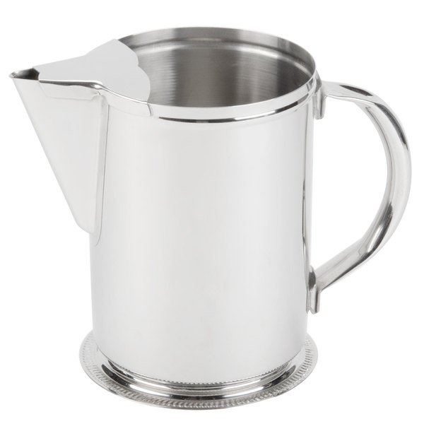2 Qt Stainless Steel Water Pitcher