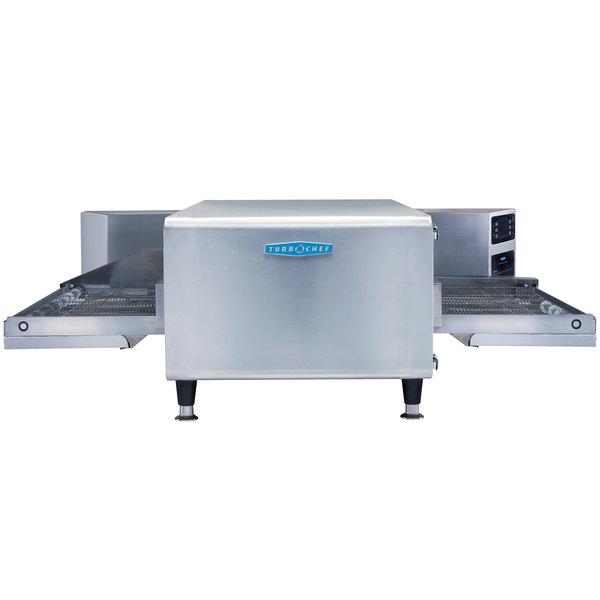 "TurboChef HCT-4215-4-V 48"" High h Ventless Conveyor Oven - 50/50 Split Belt, 208/240V, 3 Phase Main Image 1"