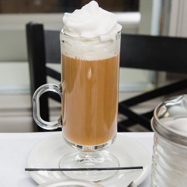 Libbey 5292 8 oz. Irish Glass Coffee Mug - 24/Case