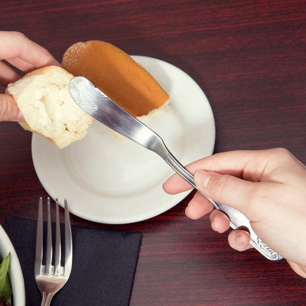 Shelley Flatware Stainless Steel Butter Knife - 12/Case