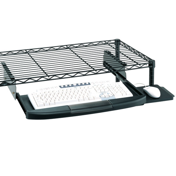 Metro CKS1522BL Keyboard Tray for Metro Wire Shelves