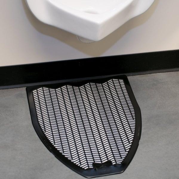 """20"""" x 18"""" Black Disposable Urinal Mat (IMP 1525-5)"""