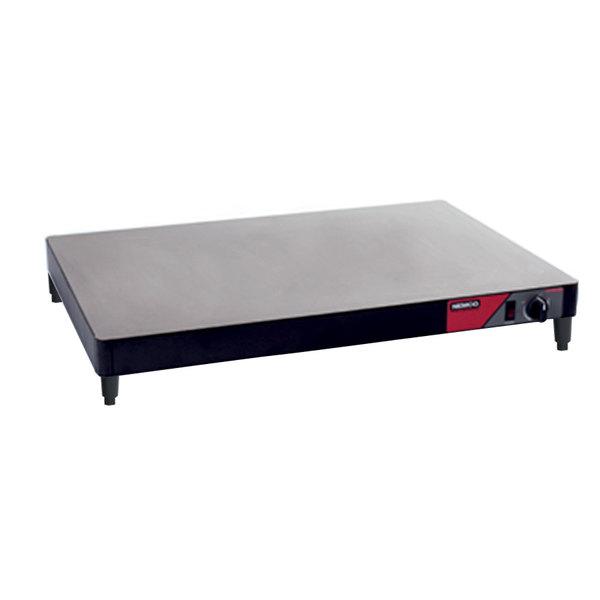 "Nemco 6301-60 60"" Heated Shelf Warmer with Black Sides - 120V"