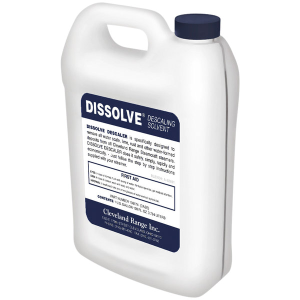 Cleveland 106174 1 Gallon Dissolve Boiler Delimer / Descaling Solvent - 6/Case