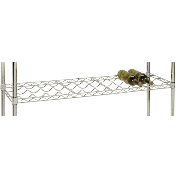"48"" x 14"" Wire Wine Shelf, 12 Bottle Capacity"