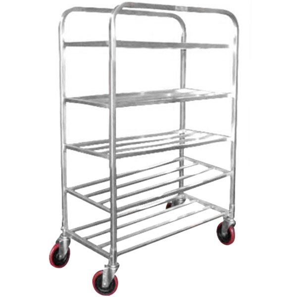 Winholt UNAL-5-WEG Five Shelf Narrow Universal Cart Main Image 1