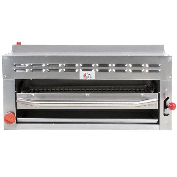 Cooking Performance Group CPG-SB-36 Liquid Propane 36 inch Salamander - Range / Wall Mount