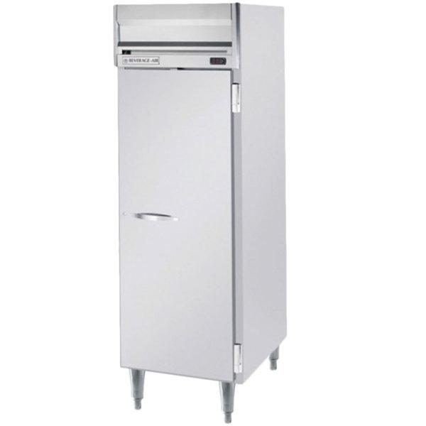 "Beverage-Air HFPS1HC-1S Horizon Series 26"" Solid Door All Stainless Steel Reach-In Freezer Main Image 1"
