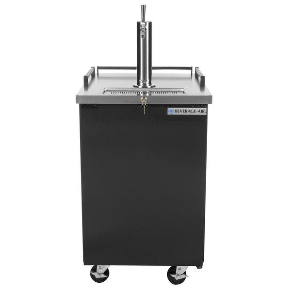 Superieur Beverage Air BM23 B Single Tap Kegerator Beer Dispenser   Black, (1) 1/2  Keg Capacity