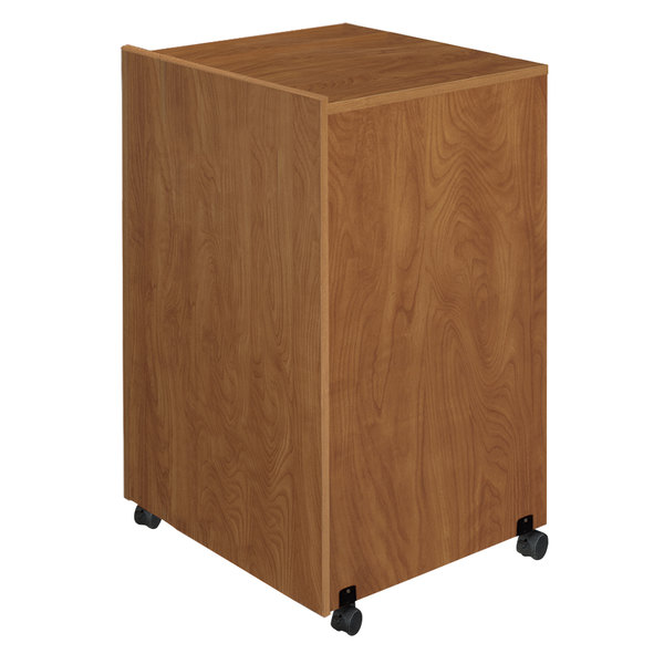Oklahoma Sound 112-MO Lectern Base - Medium Oak Finish Main Image 1