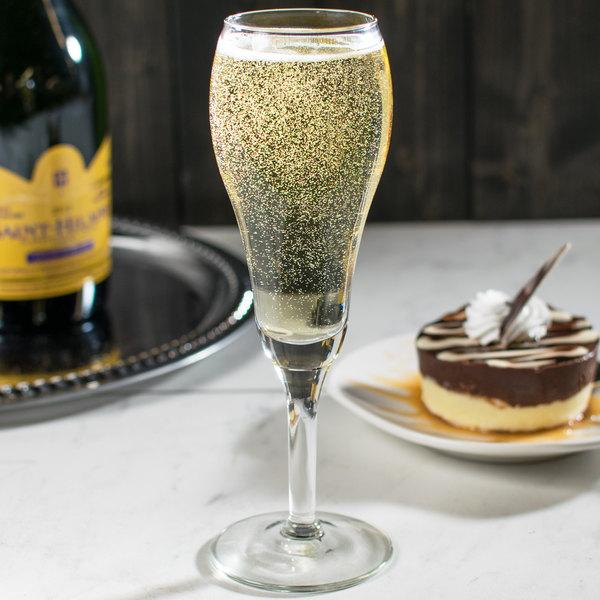 Libbey 8477 Citation Gourmet 6 oz. Tulip Champagne Glass - 12/Case