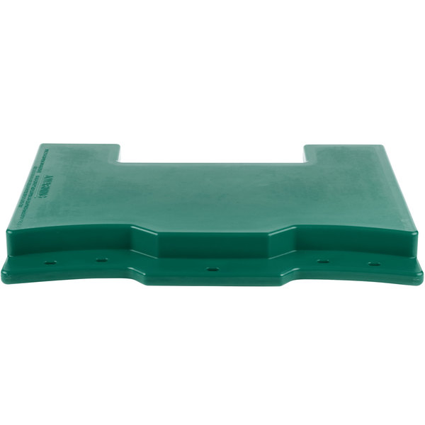 Cambro VCS32CNT519 Green Connector for Connecting Versa Carts to Versa Food Bars / Work Tables