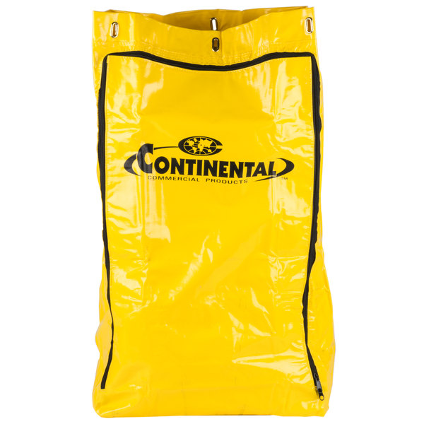 Continental 188YW Replacement Bag for Janitor Cart Main Image 1