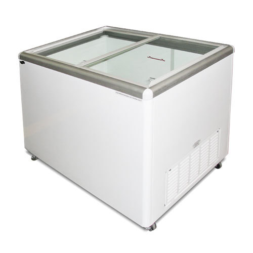 Excellence EURO-8 Ice Cream Flat Top Flat Lid Display Freezer - 7.5 cu. ft.