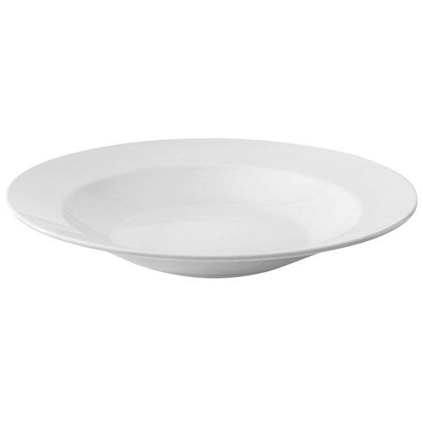 GET B-2412-DW Diamond White 24 oz. Bowl Wide Rim - 12/Case Main Image 1
