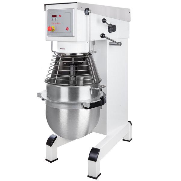 Varimixer V60A 60 Qt. Commercial Planetary Floor Mixer with Accessories - 208V, 3 hp Main Image 1