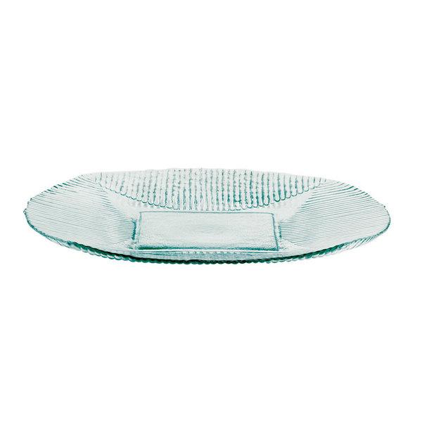 "Tablecraft G14 Barcelona 13 3/4"" Round Cake Plate / Tray"