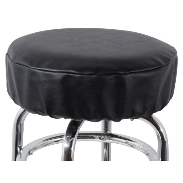 14quot Black Vinyl Bar Stool Seat Cover : 69095 from www.webstaurantstore.com size 600 x 600 jpeg 22kB
