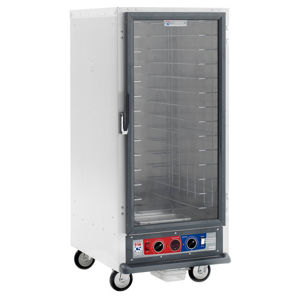 Metro C517-CFC-L C5 1 Series Non-Insulated Heated Proofing and Holding Cabinet - Clear Door Main Image 1