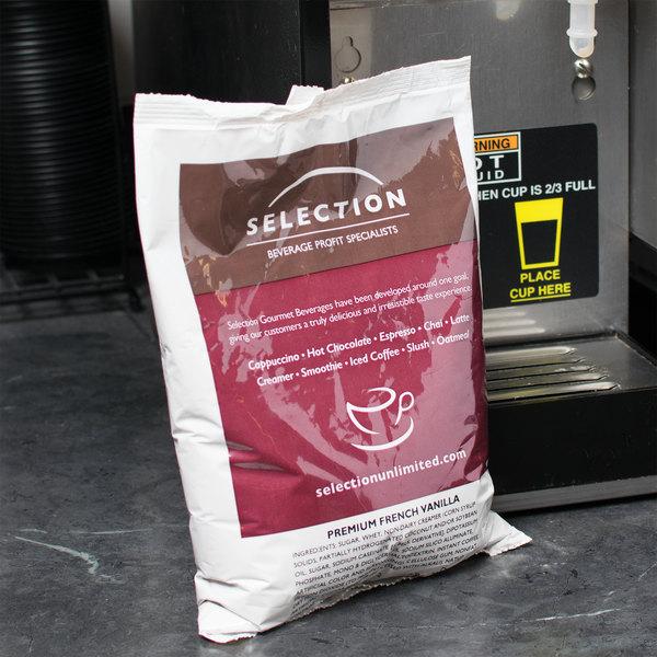 French Vanilla Cappuccino Mix 2 lb Bag