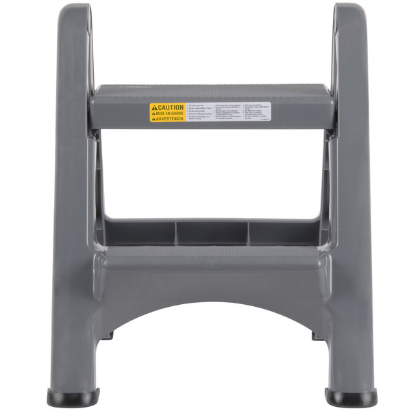 Excellent Rubbermaid Fg420903Cylnd Two Step Step Stool Caraccident5 Cool Chair Designs And Ideas Caraccident5Info