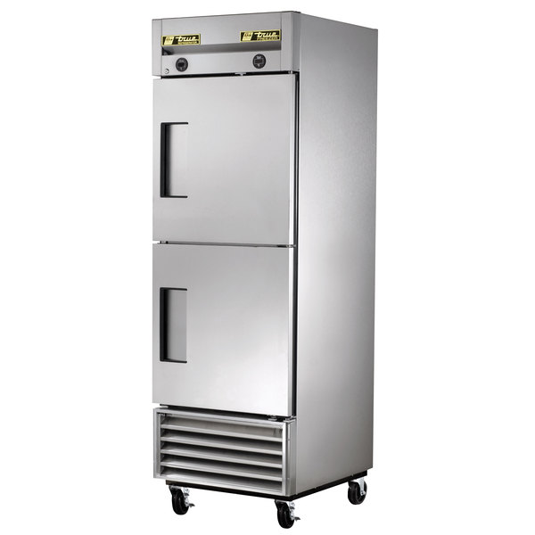 True T-23DT One Section Dual Temperature Reach In Combination Refrigerator / Freezer