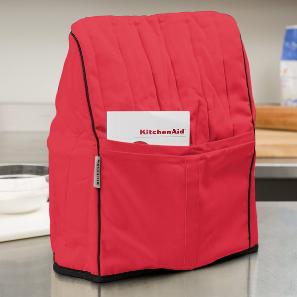KMCC1ER Empire Red Quilted Cover for KitchenAid Stand Mixers