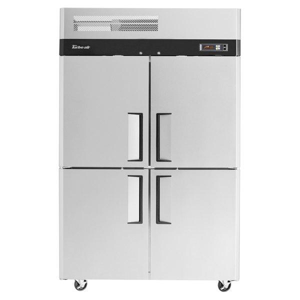 "Turbo Air M3R47-4 M3 Series 52"" Solid Half Door Reach In Refrigerator"